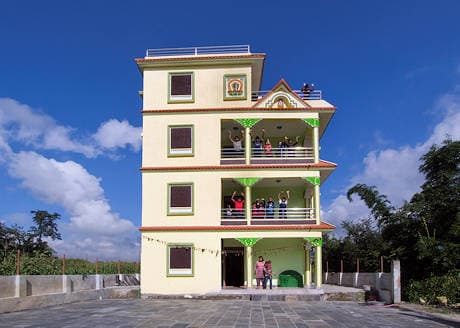 Front view Sundaraijal Children's Home