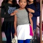 Puja, Deki and Ashma